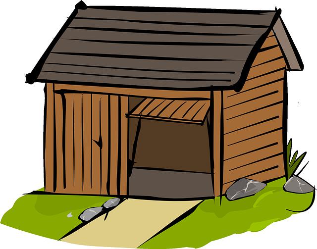 drevené garáže