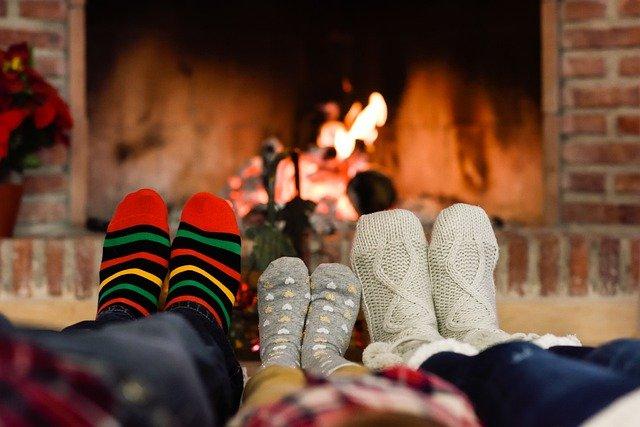 rodinka v ponožkách